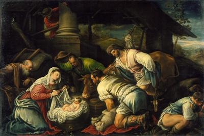 The Adoration of the Shepherds, c.1585-1590