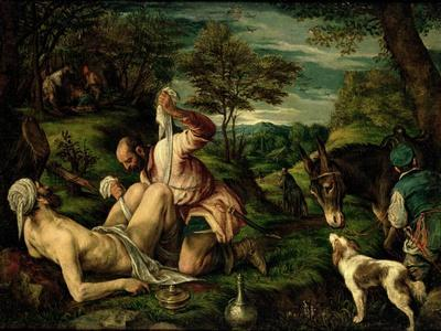 The Parable of the Good Samaritan, 1575