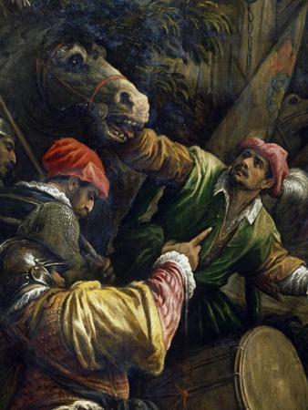 Venetians Defeating Milanese in Casalmaggiore in 1446
