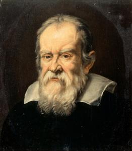 Portrait of Galileo Galilei by Francesco Boschi