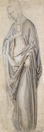 A Drapery Study for a Virgin Annunciate