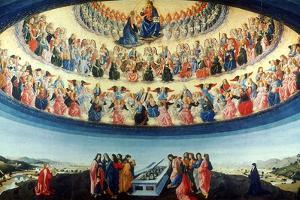 The Assumption of the Virgin, C1475-1476 by Francesco Botticini
