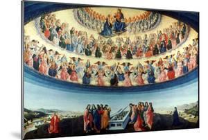 The Assumption of the Virgin, C1475-1476 by Francesco Botticini