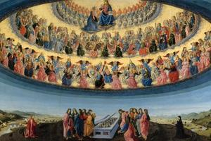The Assumption of the Virgin, Ca 1475 by Francesco Botticini