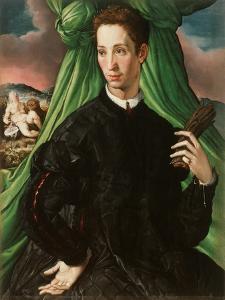 Portrait of a Florentine Nobleman, 1546-48 by Francesco De Rossi Salviati Cecchino