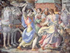 Triumph of Camillo, Scene from 'Stories of Furius Camillus', C.1545 by Francesco De Rossi Salviati Cecchino