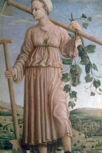 Allegory of Autumn, 15th Century by Francesco del Cossa