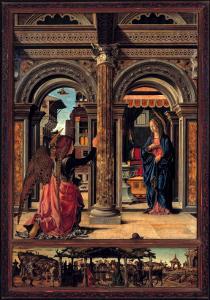 Annunciation by Francesco del Cossa