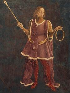 Dean, Detail from Sign of Aries, Scene from Month of March by Francesco del Cossa