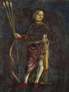 Dean, Detail from Sign of Gemini, Month of May by Francesco del Cossa