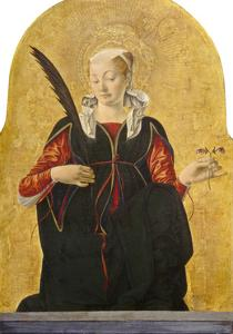 St Lucy, C. 1473- 74 by Francesco del Cossa