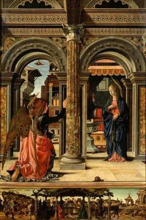 The Annunciation, 1470-1472