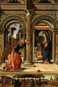 The Annunciation, 1470-1472 by Francesco del Cossa