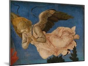 Angel (Panel of the Pistoia Santa Trinità Altarpiec), 1455-1460 by Francesco Di Stefano Pesellino