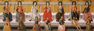 The Seven Virtues by Francesco Di Stefano Pesellino