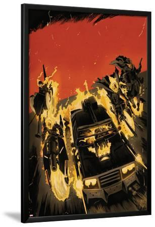 Ghost Racers #1 Cover Featuring Ghost Rider, Phantom Rider