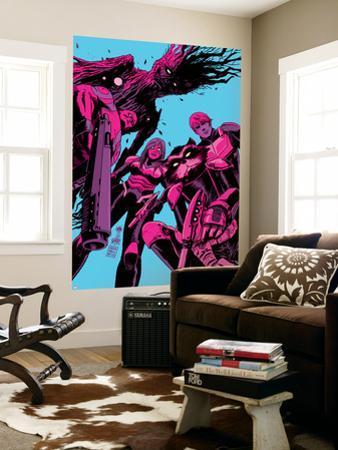 Guardians of the Galaxy #8 Cover: Groot, Drax, Gamora, Rocket Raccoon, Star-Lord