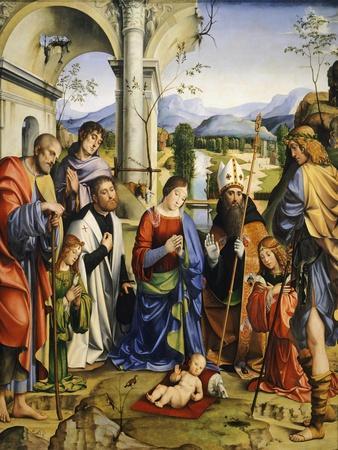 Bentivoglio Altarpiece, 1499
