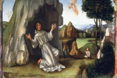St Francis Receiving the Stigmata, Late 15th-Early 16th Century