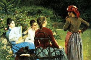 Fernanda Gioli and Her Friends by Francesco Gioli