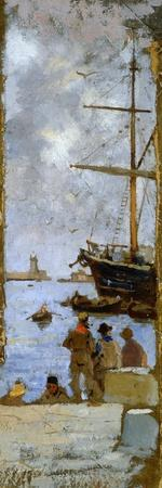 View of Port of Livorno