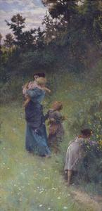 Wildflowers, 1896 by Francesco Gioli