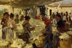 Wool Seller, 1890 by Francesco Gioli