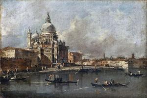 Santa Maria Della Salute in Venice by Francesco Guardi