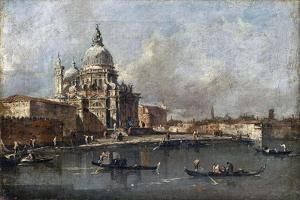 Santa Maria Della Salute in Venice by Francesco Guardi