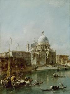 Santa Maria Della Salute, Venice by Francesco Guardi