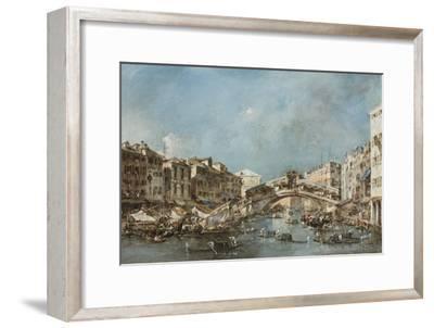 The Rialto Bridge, C.1775