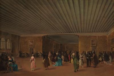 The Ridotto Pubblico at Palazzo Dandolo, c.1765-68