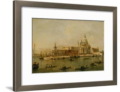 Venice: The Dogana and Santa Maria della Salute
