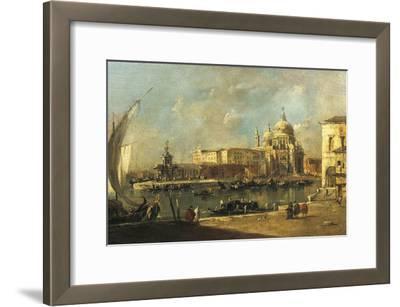 View of the Dogana and Santa Maria Della Salute, Venice