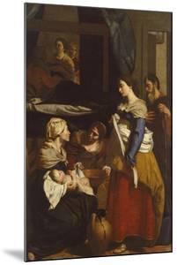 Birth of Virgin by Francesco Guarino