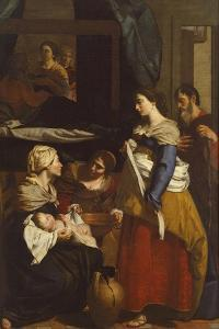Birth of Virgin by Francesco Guarino