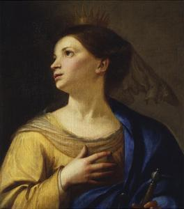Saint Catherine by Francesco Guarino