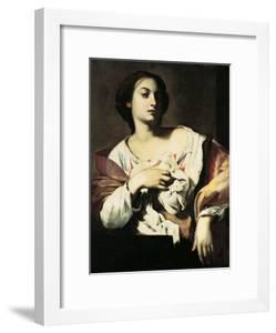 St. Agatha by Francesco Guarino