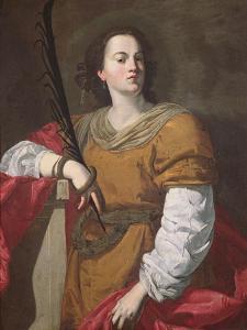 St. Christina the Astonishing, 1637 by Francesco Guarino