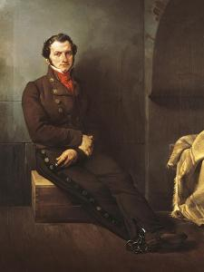 Count Arese Incarcerated, 1828 by Francesco Hayez
