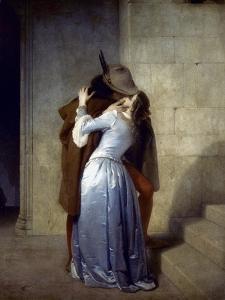 Hayez: The Kiss by Francesco Hayez