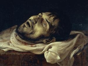 Head of the Count of Carmagnola, 1834 by Francesco Hayez