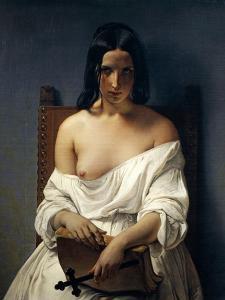 Meditation, Italy in 1848, 1851 by Francesco Hayez