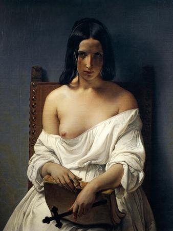 Meditation, Italy in 1848, 1851