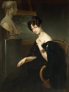 Portrait of Cristina Trivulzio Belgiojoso by Francesco Hayez
