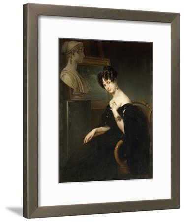 Portrait of Cristina Trivulzio Belgiojoso