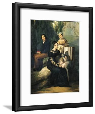 Portrait of Family Stampa Di Soncino