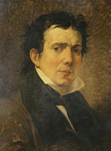 Portrait of Pompeo Marchesi by Francesco Hayez