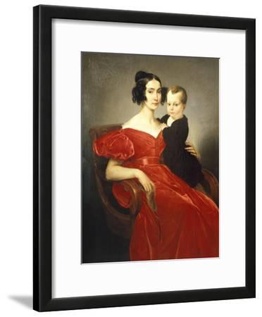 Portrait of Teresa Zumali Marsili with Her Son Giuseppe
