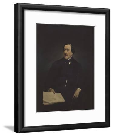 Portrait of the Composer Gioachino Antonio Rossini (1792-186)